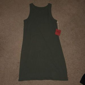 Mossimo Olive Flowy Dress (NEW WITH TAGS)